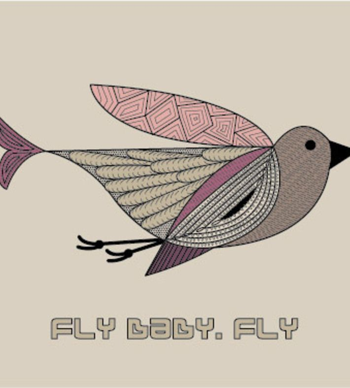 FLY BABY, FLY col. You can buy this piece at www.artrebels.com #artrebels #art #vissevasse