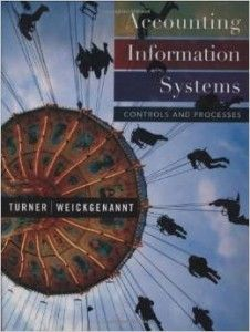 Textbook Solutions Manual for Accounting Information Systems Controls and Processes by Turner INSTANT DOWNLOAD