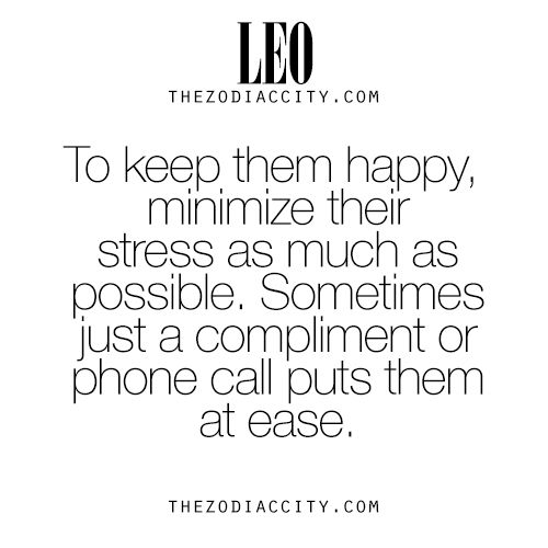 Hate being stressed out when it happens, but usually the simplest thing will help, making me laugh will do wonders