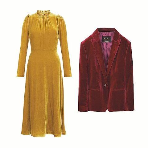 Velvet Jacket Massimo Dutti