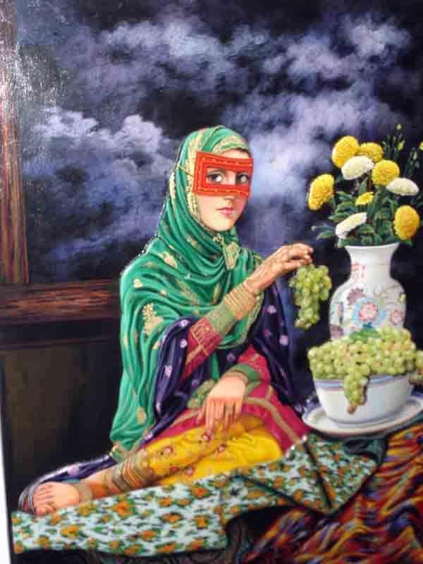 пропускает иран в картинах художников жителей волгограда много