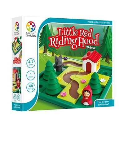 Little Red Riding Hood Deluxe Single Player looks like a fantastic game for growing minds.  my 5 year old always loves a challenge. This game looks so good, I want to play it. :)  #EntropyWishList #PinToWin #kidschristmasmusthaves