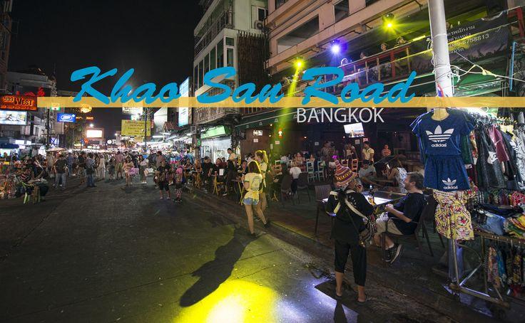 Die knapp 400 Meter lange, berühmt-berüchtigte Khao San Road in Bangkok  wird von den Einen  abfällig als »Ballermann für Rucksacktouristen« bezeichnet, für die Anderen ist sie unentbehrliches Anlaufziel in Bangkok. Wie du zu dieser Straße kommst und was dich dort erwartet, erfährst du in meinem Bericht.  #khaosanroad #thailand #bangkok #backpacking #reiseblogger