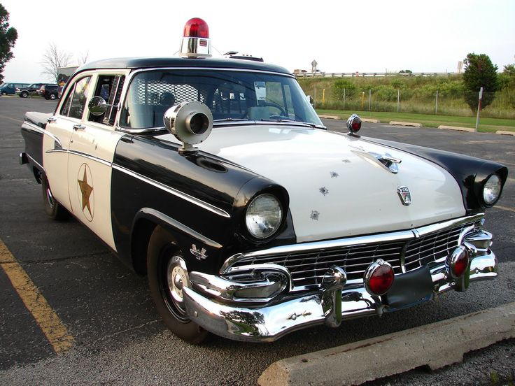 Old Police Cop Car | vintage police cars