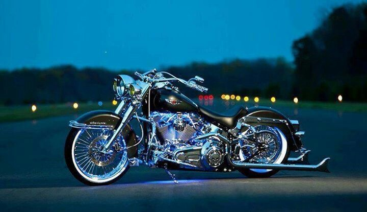 109 Best Images About Harley Softail On Pinterest