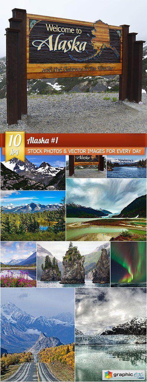 Alaska 1, 10 x UHQ JPEG