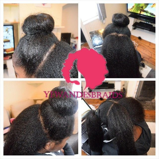Crochet Hair That Looks Like A Sew In : by yewandesbraids - #vixen crochet. client has marley hair crocheted ...