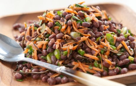 Bring this adzuki bean salad to a picnic as a new and nutritious alternative to potato or pasta salads.