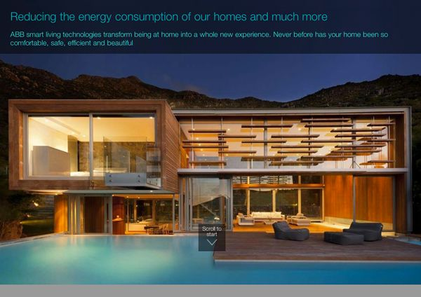 Reducing the energy consumption of our homes and much more by ABB