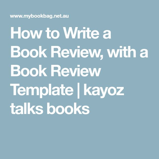 The 25+ best Book review template ideas on Pinterest Writing a - book review template