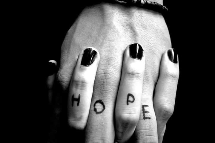 When ever I make a wish it is for hope...