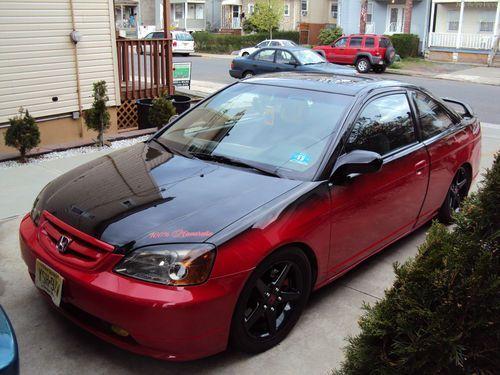 Unique two tone paint job EM2 Civic.