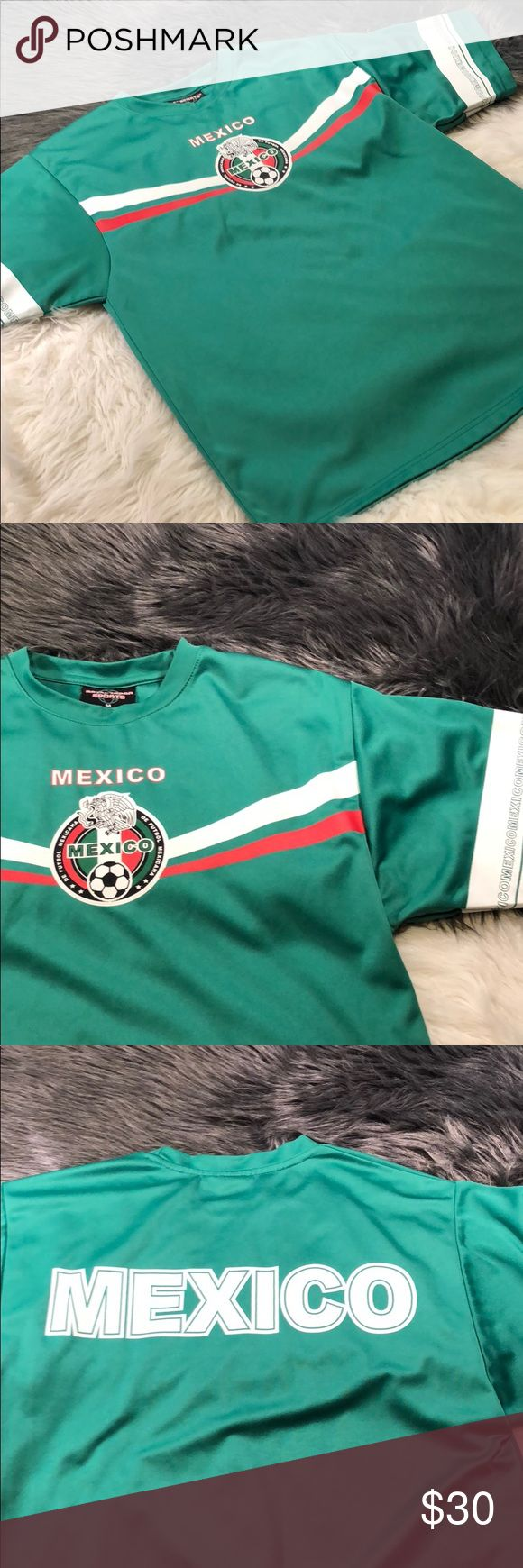 Mexico international soccer shirt Great condition  Inventory Code: C royal troop sport Shirts Tees - Short Sleeve