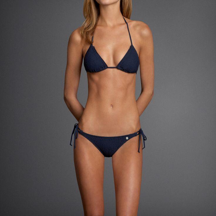 Gilly Hicks Lace Triangle Bikini Swim Suit Pinterest
