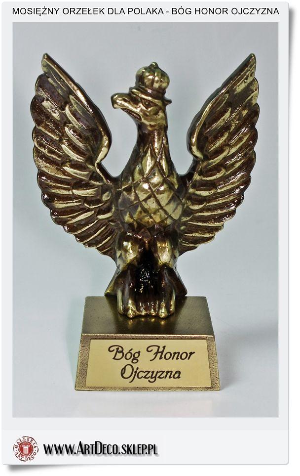 Orzełek wojskowy Bóg Honor Ojczyzna