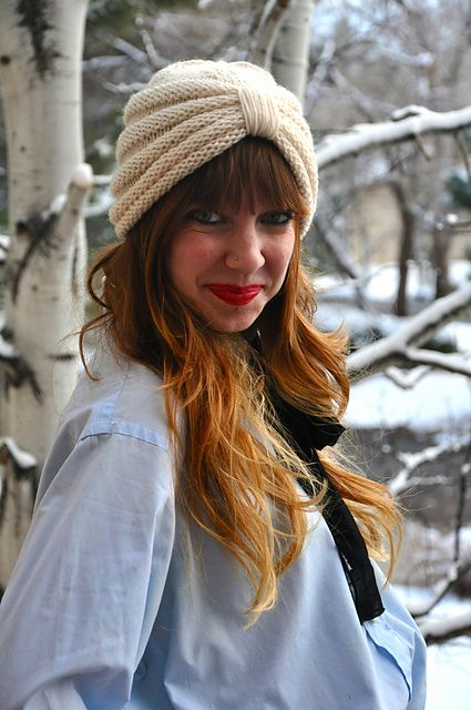 Ravelry: The Purl Knit Turban pattern by Sara Dudek
