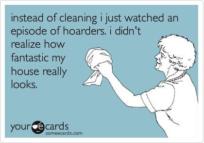 Just don't open the closet doors!