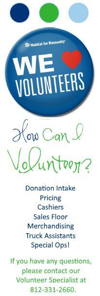 Volunteer at ReStore – Habitat For Humanity of Monroe County