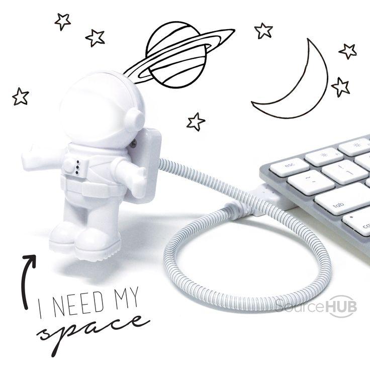 This Astronaut USB Light will light the way... Kmart, Australia.  - SourceHub Group