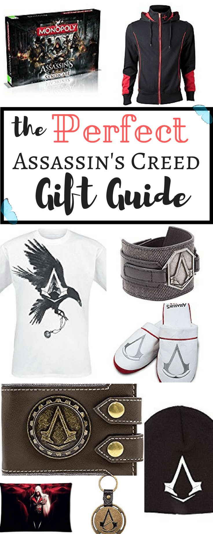 Do you know an Assassin's Creed enthusiast that just needs some cool merchandise in his collection? Are you one and want practical and fun gifts this Christmas? You've come to the right place! Here's our Assassin's Creed Gift Guide for all the maniacs!