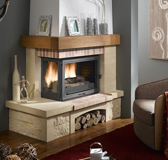 les 25 meilleures id es concernant chemin es rustiques sur. Black Bedroom Furniture Sets. Home Design Ideas