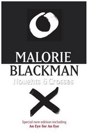 4 heart broken stars.Oh, there's my heart: in pieces on the floor.Good God, this book was like taking a stab directly in the heart.  Noughts & Crosses is an alternative world where blacks, called Crosses, are the ruling  class and whites, called naughts,  are the lower class -- its setting  seemed l