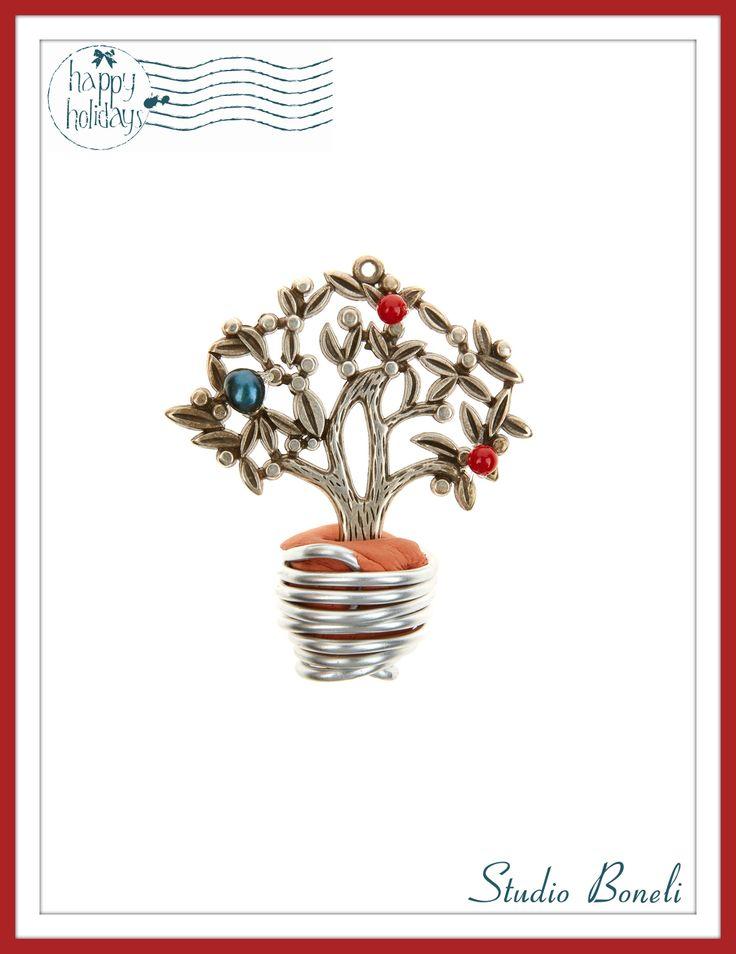 """Χειροποίητο Χριστουγεννιάτικο Γούρι """"Το Δέντρο της Ζωής"""" #Christmas #Charms"""