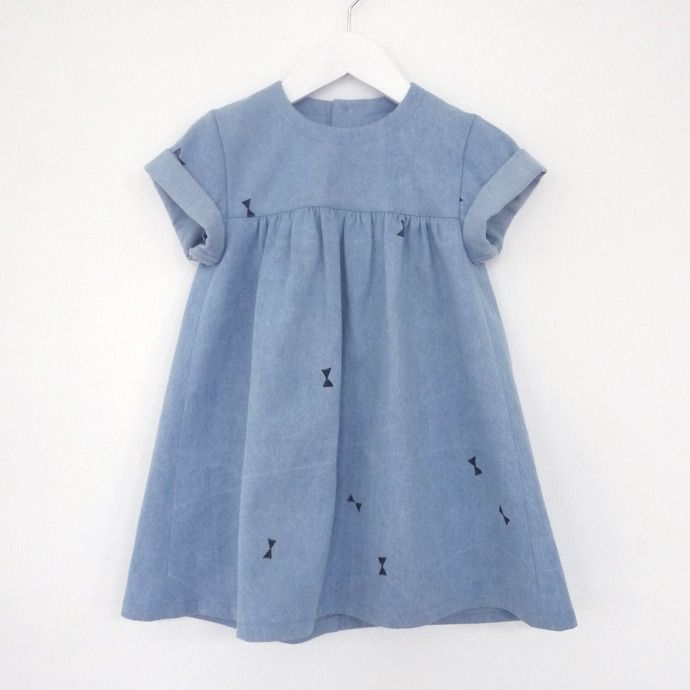 Oh My Kids Babydoll denim dress