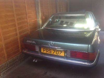 eBay: 1973 V8 Mercedes 350SL Convertible with Private Reg Number and Tax Exempt #classiccars #cars