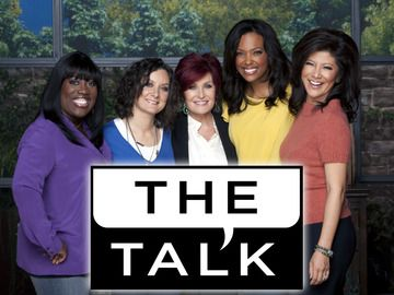 The Talk.....I love how crazy this show gets. I love Sharon Osbourne (especially her hair color), Sheryl Underwood (she makes my day), Sara Gilbert, Aisha Tyler, Julie Chen