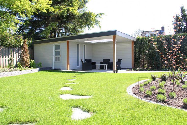 Tuinhuis met overkapping 12 - Van der Heijden Buitenleven