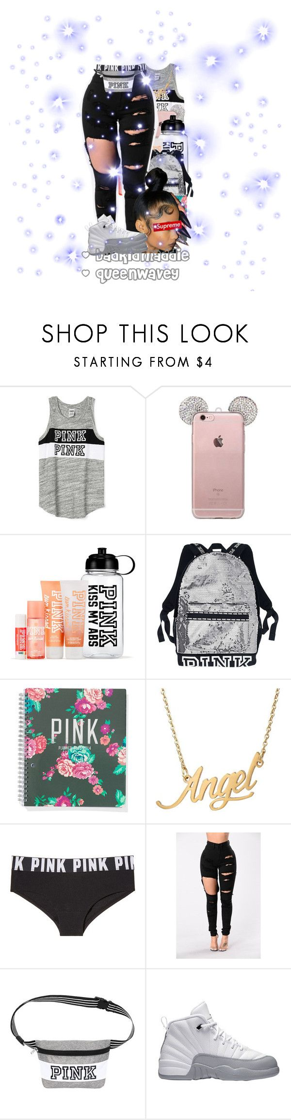 """Untitled #155"" by fwmaddieeee ❤ liked on Polyvore featuring Victoria's Secret PINK and Victoria's Secret"