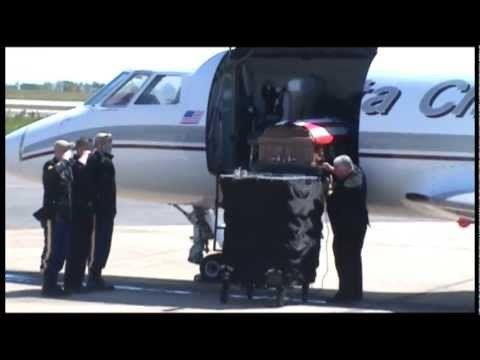 fallen army ranger sgt tanner higgins returns home