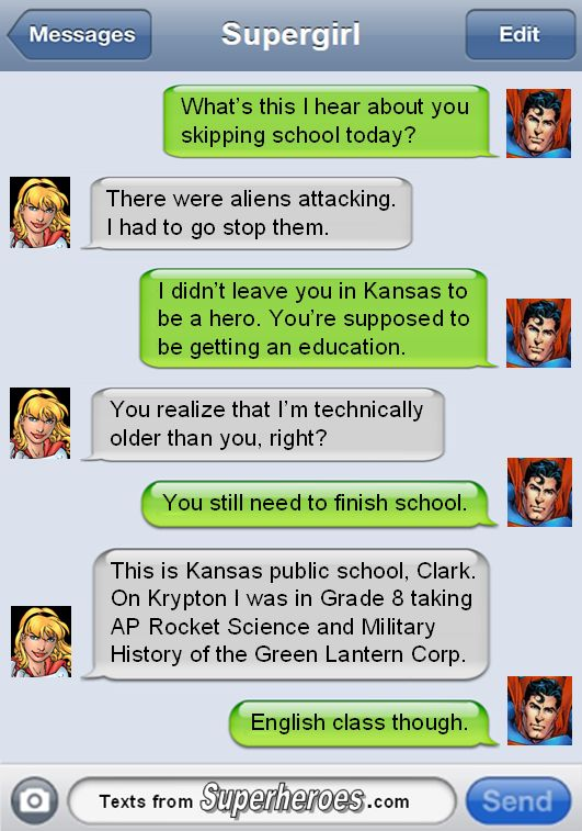 Yeah what's advanced rocket science ever done for Kryptonians anyw... oh wait.