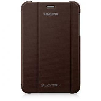Oryginalne etui do Samsung Galaxy Tab 2 w wersji 7-calowej. Ochrania i zapewnia wygodę w codziennym użytkowaniu tabletu. Funkcja nachylenia ułatwia pisanie, oglądanie filmów lub zdjęć, gdziekolwiek jesteś.  Produkt w kolorze brązowym.