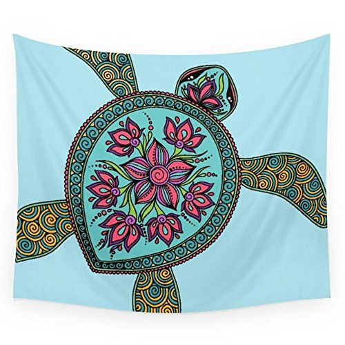 "Society6 Turtle Wall Tapestry Small: 51"" x 60"" Society6 https://www.amazon.com/dp/B017QIYM1G/ref=cm_sw_r_pi_dp_x_Mg2Tyb326AVX2"