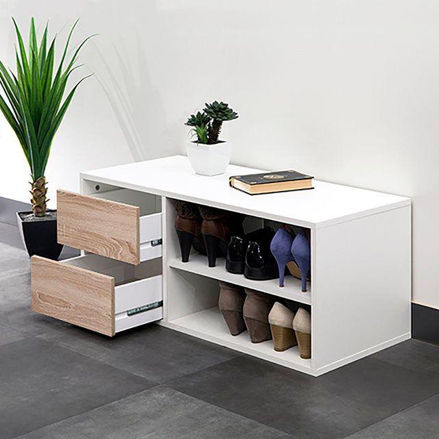 Esthétique & Astucieux, ce meuble de rangement est idéal pour une entrée