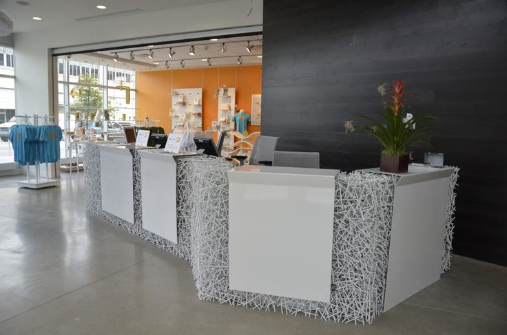 Kendall College of Art and Design Faculty  reception desk