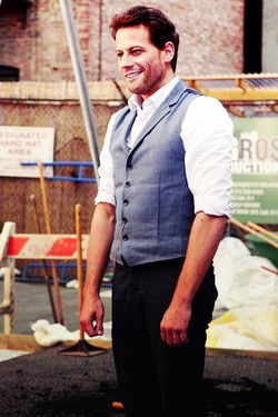 """Henry Morgan. You only get an idea, sometimes, rarely, of how well-built he is. He is all refinement and charm and intelligence. But then, sometimes, you are like, """"Oh yeah. Henry's got some muscle under that designer suit."""""""