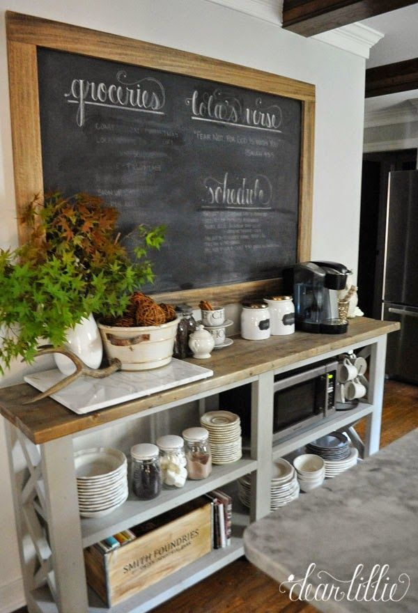 Time For A Coffee/Hot Cocoa Station and a Fire in the Fireplace (via Bloglovin.com )