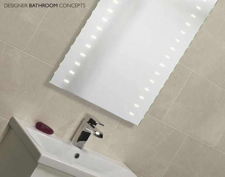 Pulse Plus Designer LED Bathroom Mirror