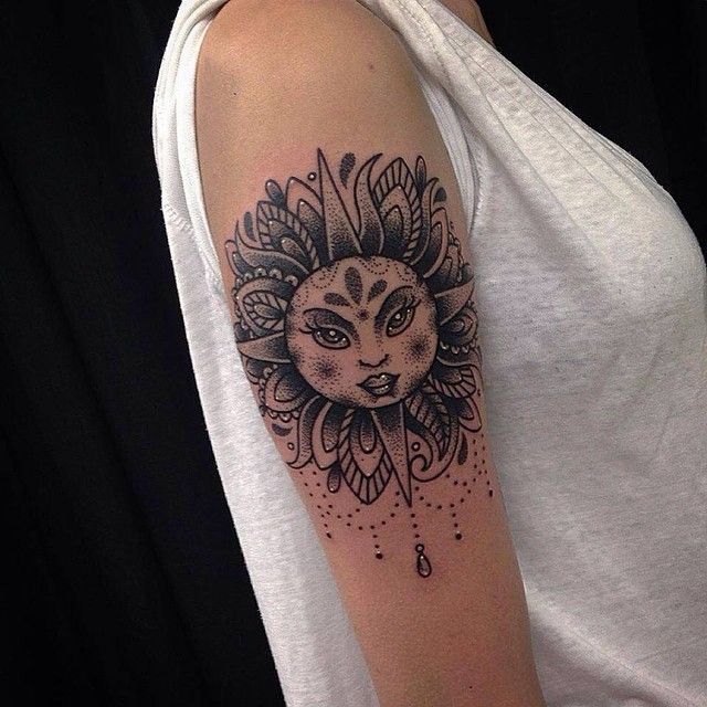 83 best sun tattoos images on pinterest sun tattoo designs tattoo designs and meanings and. Black Bedroom Furniture Sets. Home Design Ideas