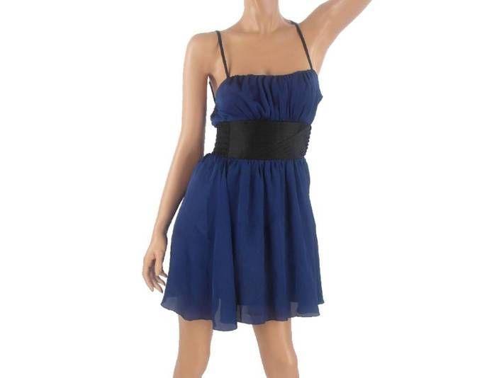 Blaues kleid welche schuhe dazu