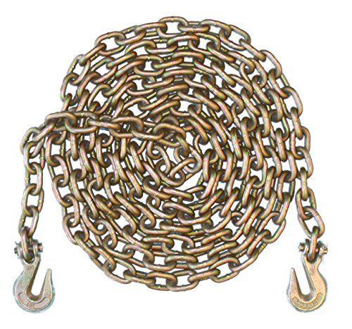 "5/16"" - Grade 70 Binder Chain - Grab Hooks - 20' Length"