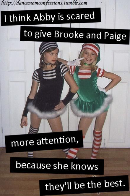 Paige was Maddie's biggest competitor b4 dance moms………