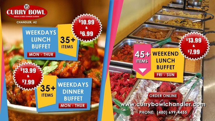 Indian Food Buffet in Chandler, AZ #chandleraz #Chandler # ...