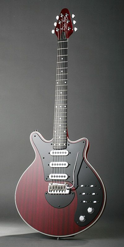 The Red Special built by Brian May and his Dad has been replicated a few times, Burns and Guild have both made them, but they are now made by Brian May Guitars along with Mr May, House Music and Pete Malandrone (May's guitar tech).  Had great fun playing one of these through an AC30 (just the one AC30 though, not a wall of).