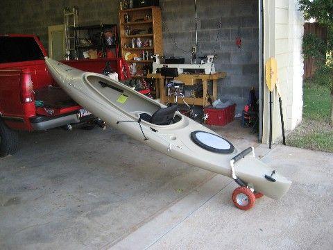 Easy and cheap kayak cart