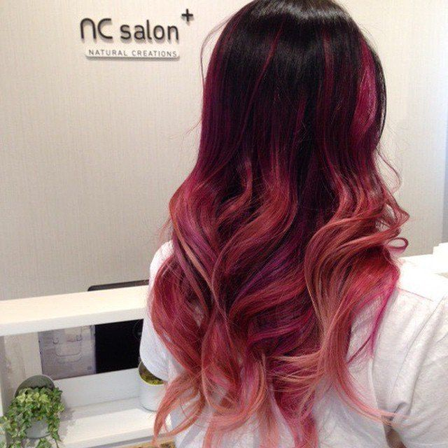 red to pink ombre - Buscar con Google