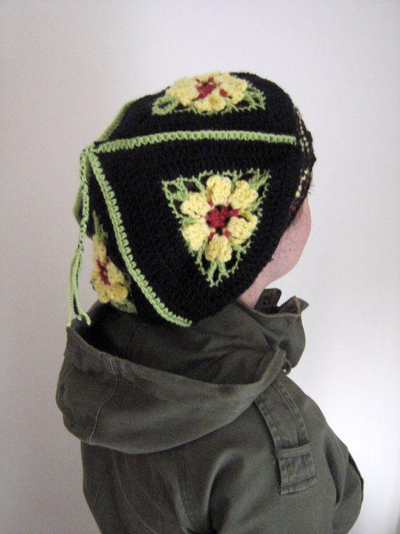 jamaica crochet beanie bob marley rastafari by ArtyPartyBeanie